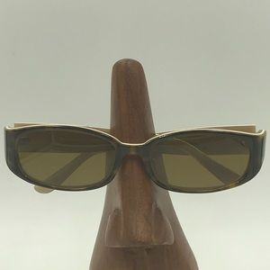 Juicy Couture Brown/Cream Oval Sunglasses Frames